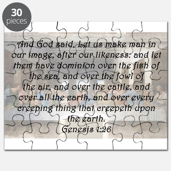 Genesis 1:26 Puzzle