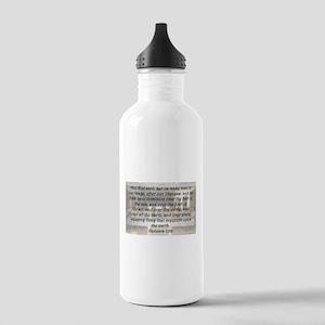 Genesis 1:26 Water Bottle