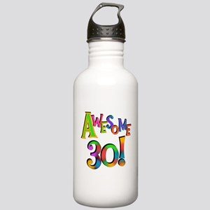 Awesome 30 Birthday Water Bottle