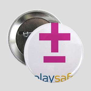 "PlaySafe Pride 2.25"" Button"