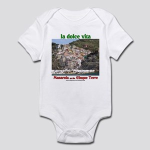 Manarola Infant Bodysuit