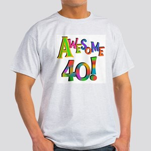 Awesome 40 Birthday T-Shirt