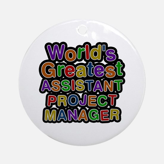 World's Greatest ASSISTANT PROJECT MANAGER Round O