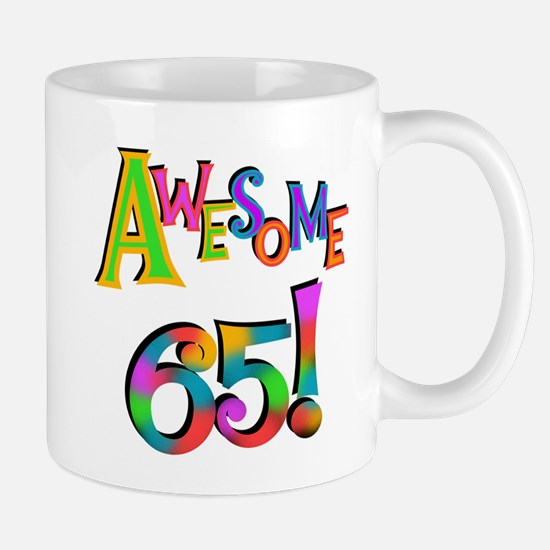 Awesome 65 Birthday Mug
