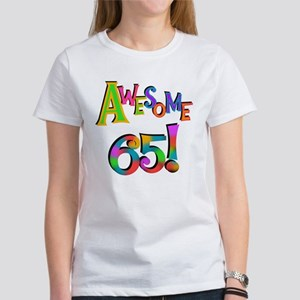 Awesome 65 Birthday T-Shirt