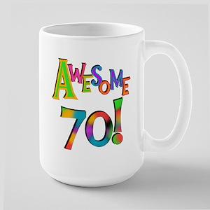 Awesome 70 Birthday Mug