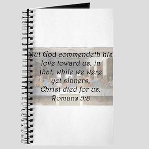 Romans 5:8 Journal
