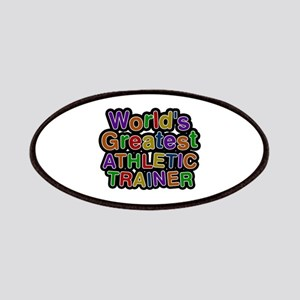 World's Greatest ATHLETIC TRAINER Patch
