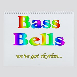 Bass Bells Wall Calendar