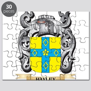 Hayley Coat of Arms - Family Crest Puzzle