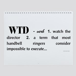 Watch the Director Wall Calendar