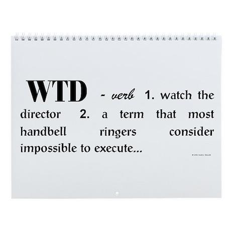 Watch the Director Wall Calendar
