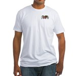 Fitted T-shirt (two-sided)