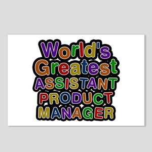 World's Greatest ASSISTANT PRODUCT MANAGER Postcar