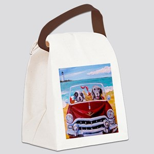 Lexi & Sophie Canvas Lunch Bag