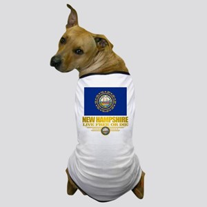 New Hampshire Pride Dog T-Shirt