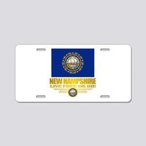 New Hampshire Pride Aluminum License Plate