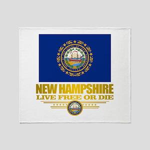 New Hampshire Pride Throw Blanket