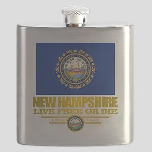 New Hampshire Pride Flask