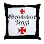 Grammar Nazi Throw Pillow