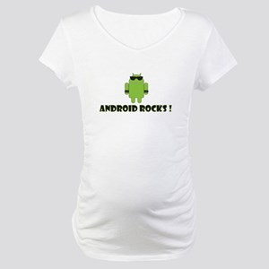 Android Rocks Maternity T-Shirt