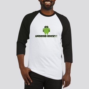 Android Rocks Baseball Jersey