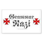 Grammar Nazi Rectangle Sticker