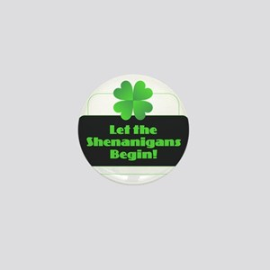 Let the Shenanigans Begin Mini Button