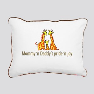 Mommy n Daddys pride n joy Rectangular Canvas Pill