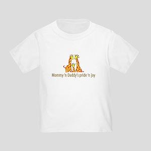 Mommy n Daddys pride n joy T-Shirt