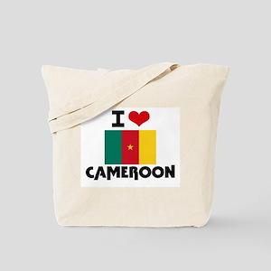 I HEART CAMEROON FLAG Tote Bag