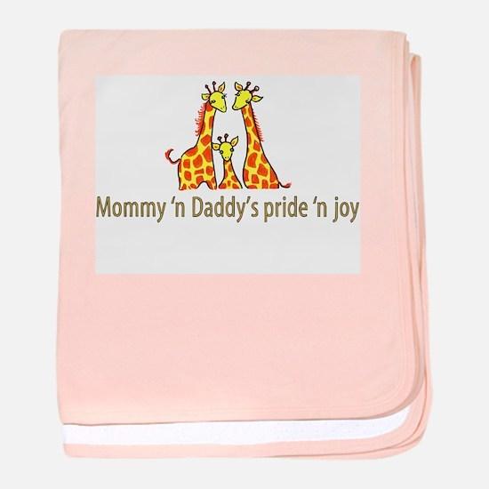 Mommy n Daddys pride n joy baby blanket