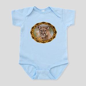 Geometric Cougar Infant Bodysuit