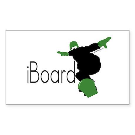 iBoard Rectangle Sticker