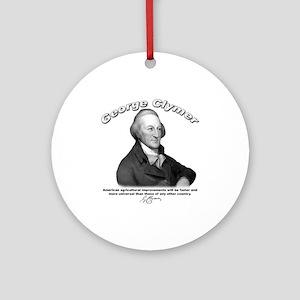 George Clymer 01 Ornament (Round)
