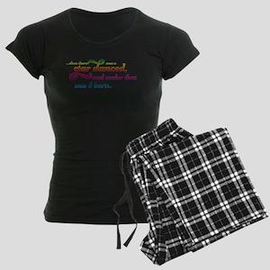 A Star Danced - Colors Women's Dark Pajamas