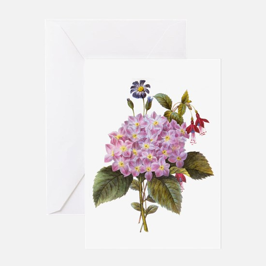 Redoute Bouquet Greeting Card