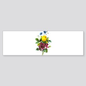 Redoute Bouquet Sticker (Bumper)