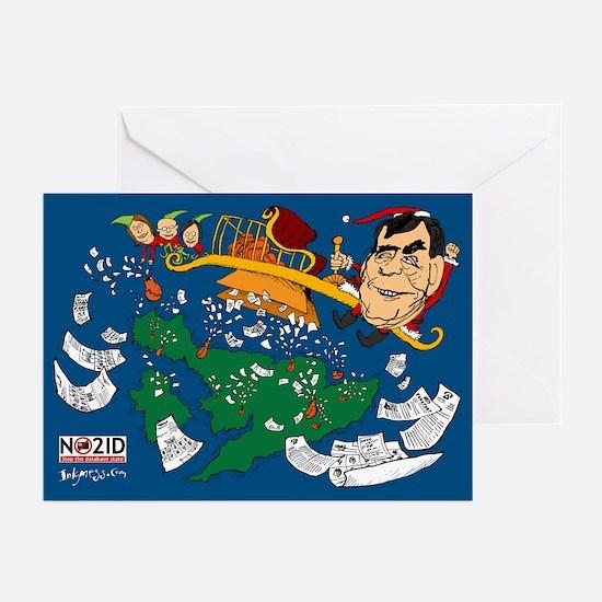 NO2ID Xmas Cards 2008 (Pk of 10)