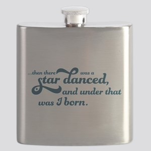 A Star Danced - Blue Flask