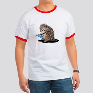 Warm Fuzzy Porcupine Ringer T