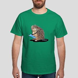 Warm Fuzzy Porcupine Dark T-Shirt