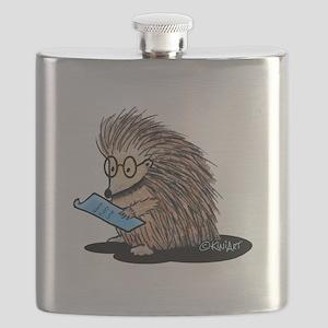 Warm Fuzzy Porcupine Flask