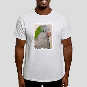 Quaker Parrot Ash Grey T-Shirt