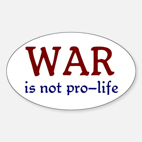 Not Pro-life Decal