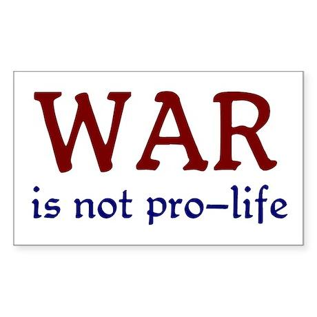 Not Pro-life Sticker