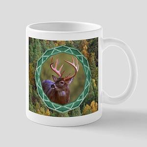 Geometric Buck Deer Mug