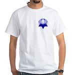 Twisty Magen David White T-Shirt