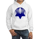 Twisty Magen David Hooded Sweatshirt