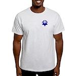 Twisty Magen David Ash Grey T-Shirt
